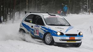 Tommy Högström och Lotta Lundqvist, MK Rimo, slutade nia i Rally Bilmetro, ett snäpp högre än målsättningen före start.