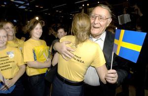 Ingvar Kamprad skulle locka väljare som partiledare för det nya partiet