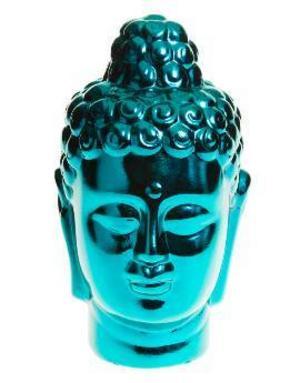 Mysig Buddha övervakar din balkong. Kostar 79,50 kronor på Indiska.