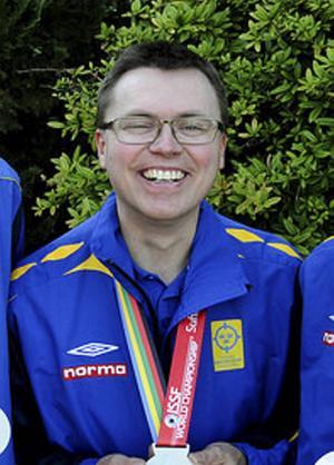 Medaljmannen nummer 1 under VM, Emil Martinsson.   Foto: Svenskt skytte