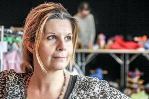 Angela Lindberg arrangerade barnloppis för fjärde gången.