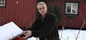 Lennart Larsson, fågelskådare i Nyby, gör som tusentals andra och räknar fåglar i helgen.