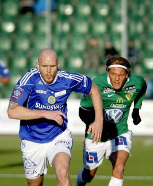 Hannes Sigurdsson i GIF Sundsvall 2009.