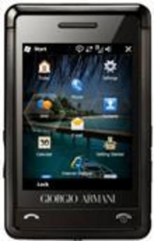Samsungs nya Armani-mobil utrustas med Windows