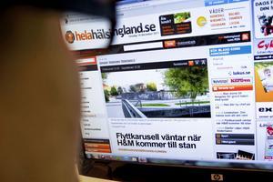 Under tisdagen registrerades 26000 sidvisningar enbart på Söderhamns-avdelningen av Helahälsingland.se. Artiklarna om H&M:s etablering var ett av dragplåstren.