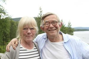 Lena Michelson och Staffan Michelson, ägare av Åsberget.