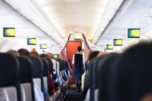 Många flygvärdinnor blir trakasserade på jobbet.