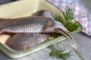 Matjessill är den feta jungfrusillen som läggs in och lagras i månader med härliga kryddor.   Foto: Janerik Henriksson/TT