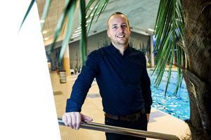 David Berglund, enhetschef på Paradiset i Örnsköldsvik.