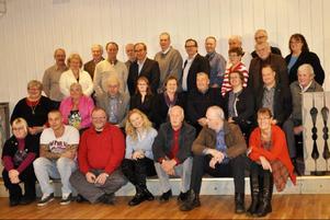 Så här ser Strömsunds nya kommunfullmäktige ut, många spända av förväntan inför vad förtroendet ska innebära.