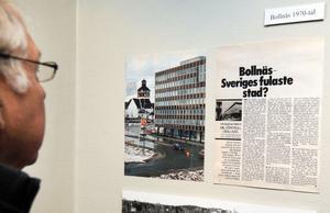 Det var 70-tal då Veckojournalens miljöpatrull utnämnde Bollnäs till Sveriges fulaste stad.