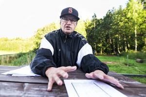 Kent Sjölund är den eldsjäl som Wilhelm Nordström pratar om. För två år sedan började det planeras för en träningsanläggning. Snart har planerna blivit verklighet.
