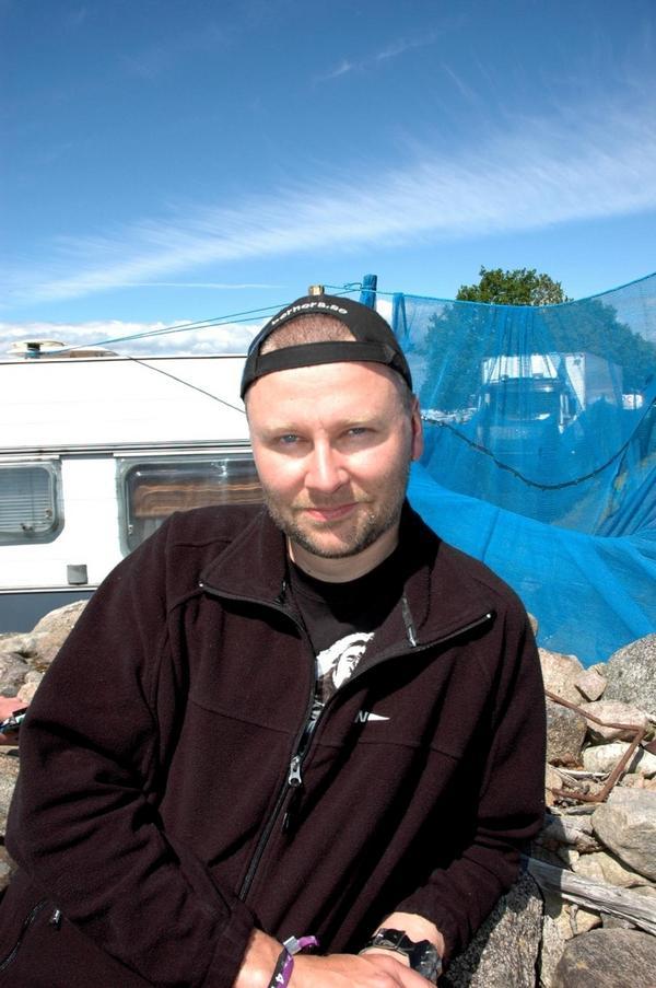 Jerker Hedberg från Bispgården - numera i Boda.