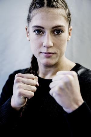 Fightern i England blir troligtvis Malin Hermanssons sista som amatör.