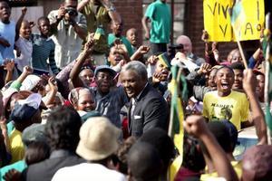 Idris Elba är övertygande i rollen som Nelson Mandela, som satt fängslad i över 20 år innan han blev Sydafrikas president. Foto: Scanbox entertainment