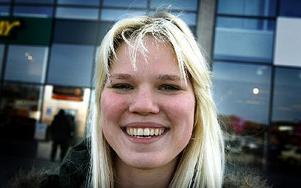 Emmelie Larsjos, 19 år, Djura: – Jag tror att jag klarat mig den här gången.