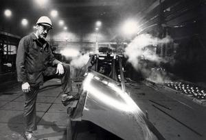 Valsmästaren Harald Johnson var med när valsverket öppnades en gång i tiden - och när det stängdes för gott på 80-talet.