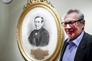 Spännande. Jan Bjerkman har ingen lust att bli inramad som föreningens grundare A. P. Landin. Men han tycker det är riktigt spännande att vara ordförande för Föreningen Gefle Forum i en tid av stora fastighetsaffärer och möjlighet att utveckla verksamheten.