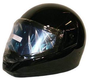 Det gäller att vara rädd om huvudet. SnoPro integral headbanger har dubbelvisir och utandningsskydd. Den har ventilation både i visiret och skalet och är utrustad med snabbspänne. Hjälmen finns hos stenmarksmaskin.se och kostar 499 kronor.
