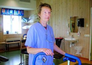 Det är svårt att få ett individuellt anpassat arbete när man bor i glesbygd. Det visar sjukgymnasten Rita Sjöström i sin forskning.