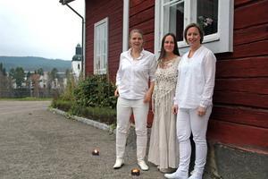 Kersti Ståbi, Katarina Hallberg och Johanna Bölja (frånvarande: Emma Härdelin)