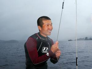 Erik Wedin har blivit svensk mästare i wakeboard två gånger. Senast för fem år sedan.