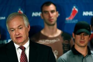 Donald Fehr uppgav sig vara överraskad över att ägarna och NHL-ledningen plötsligt kastade in handduken och lämnade förhandlingarna.