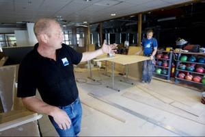 För fem år sedan byggdes nuvarande bowlinghallen på Bangårdsgatan. Det är inte bara behovet av en utökning nu som gör att ägare Göran Grape valt att bygga ut.