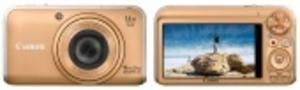 Färgglada kompakter från Canon