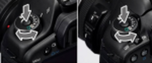 Byt ratt på Canon 5D Mark II och 7D