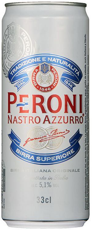Peroni Nastro Azzurro.