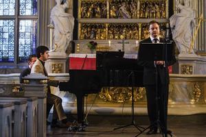 Daniel Stagno och Petteri Lehikoinen kommer denna sommar genomföra två minneskonserter, varav en hölls i Ljusdals kyrka på onsdagen.