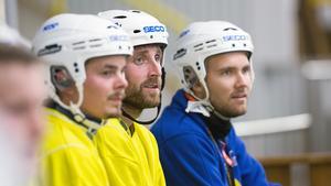 Fredrik Rydberg, Petter Andersson och Olle Wiberg.