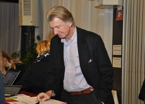 Miljöprofilen Anders Wijkman talade på ämnet