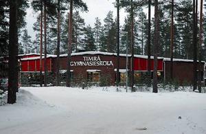 Timrå gymnasium välkomnar nya elever.