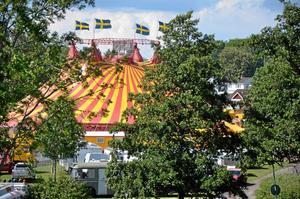 Cirkus Maximum på plats i Askersund.