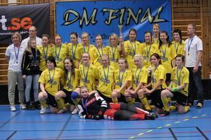 DM-mästare. Åsbro GoIF:s F96-lag blev i helgen distriktsmästare.