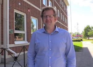 Bert-Ola Dahlgren, chef för samhällsbyggnadsförvaltningen på Älvkarleby kommun.