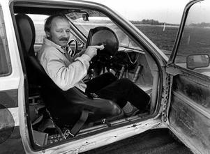 NA-profilen Jens Bennysson på en bild från 1988.