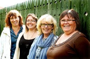 Kultursekreterare Eva Ersbacken, Therese Olsson, ABF, Ann-Christine Östholm, Studiefrämjandet och Monica Rabb, Studieförbundet Vuxenskolan arrangerar Lördag med barnen i höst. Medarrangörer är också studieförbunden Bilda och Sensus.