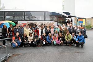 Hallsbergsbesök. Delegationen från projektet In Town besökte på torsdagen Hallsberg.