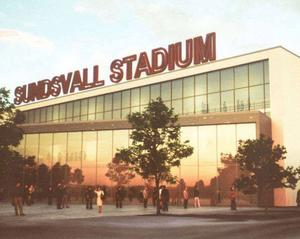 Det tredje och senaste förslaget på hur arenan skulle se ut gjordes av konsulten Peter Byström.