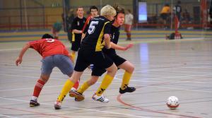Idrottsgymnasiet Bollnäs svart spelade 1-1 mot Rinmangymnasiet från Eskilstuna