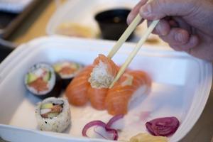 Sushi är Torbjörns favoritmat.