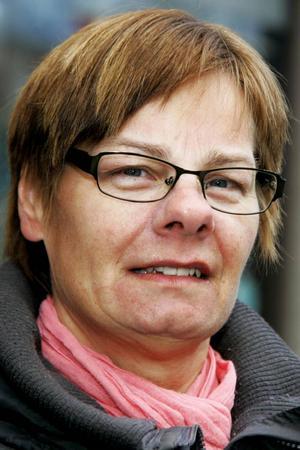 MarieSchedin, 51 år, Torvalla:– Ja, det är jag. Man har ju hört talas om att det är gamla som har blivitliggande.