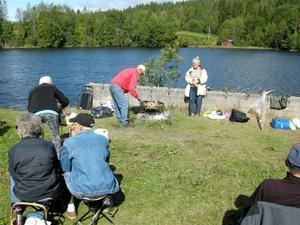 Medlemmarna fick en fin dag med näring både för kropp och hjärna.   Foto: Arne Larsson