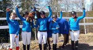 Allianslaget med ryttare från Bollnäs RS och Nansta Sportryttare vann den allsvenska avslutningen i Vännäs och är klar för final på Strömsholm om tre veckor.