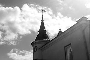 Undgick grävskoporna. Tornhuset på Pilgatan 23 är ett av få spår efter den gamla stadsdelen Ängsgärdet.