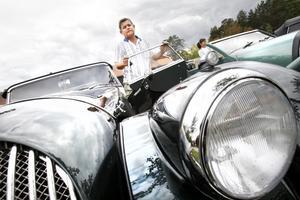Ulf Mattsson köpte sin andra Morgan, en  Roadster, i fjol.