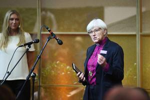 Ärkebiskop Antje Jackelén ser fram emot samtalet med Joachim Gauck, fram till nyligen president i Tyskland.